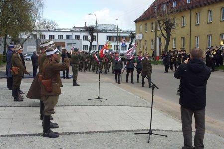 Zabezpieczenie święta 11 pułku ułanów legiono