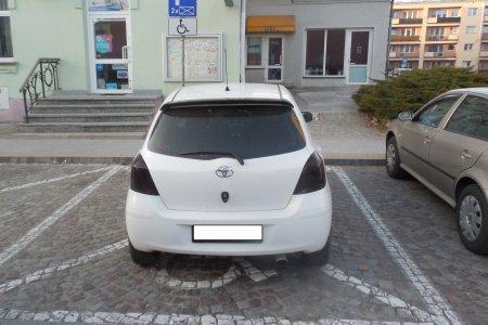 Przedświąteczne roztargnienie w czasie parkowani
