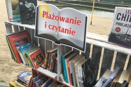 """""""Plażowanie i czytanie"""" na kąpielisku Krubin"""