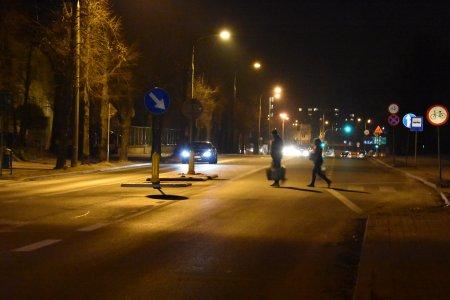 Doświetlenie przejść dla pieszych: miasto wdro�