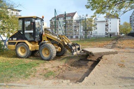 Budowa chodnika przy ul. Witosa