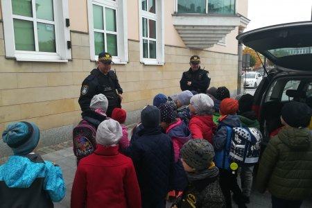 Wizyta uczniów w Straży Miejskiej