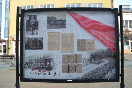 """""""Dla Niepodległej"""" – nowa wystawa na ul. Wa"""