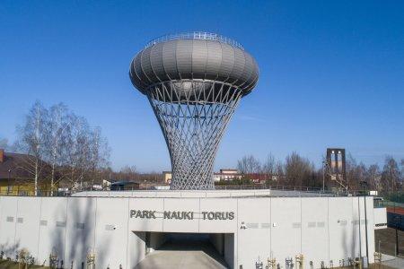 Wieża ciśnień z parkiem nauki nominowana w konk