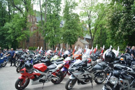 Spotkania motocyklowe i akcja Motoserce