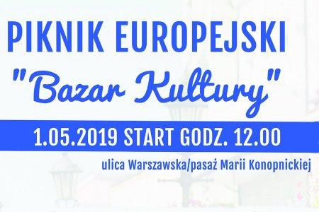 "1 maja: Piknik Europejski ""Bazar Kultury"""