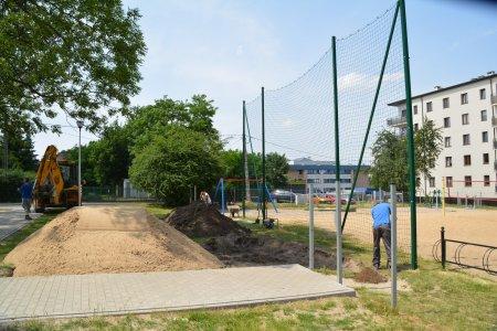 Rozbudowa parku aktywnej rekreacji przy ul. Witosa
