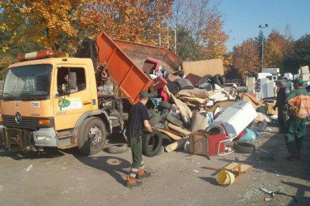 Zbiórka odpadów wielkogabarytowych i zużytego s