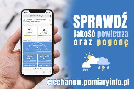 Rozbudowana aplikacja do monitorowania pogody i ja