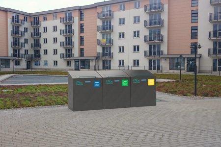 System weryfikacji segregowania odpadów w zabudow