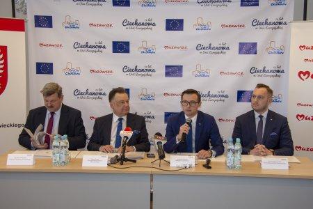 15 lat Ciechanowa w Unii Europejskiej