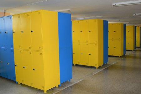 Zamontowano ponad 700 szafek dla uczniów SP nr 5