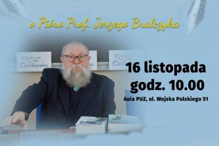 Dyktando z udziałem prof. Bralczyka i Stefana Fri