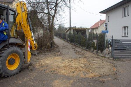 Budowa kanalizacji sanitarnej w ul. Cichej