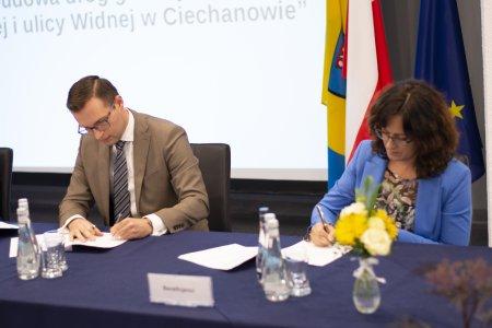 Podpisanie umowy na dofinansowanie do modernizacji