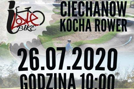 """""""Ciechanów kocha rower"""" – zawody na torze p"""