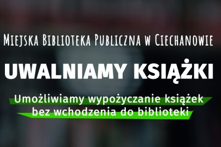 "Miejska biblioteka ""uwalnia"" książki"