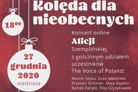 Koncert online Alicji Szemplińskiej i uczestnikó