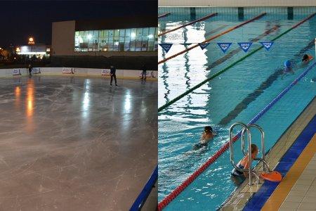 Otwarcie basenu i lodowiska