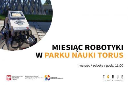 """""""Miesiąc Robotyki"""" w Torusie"""
