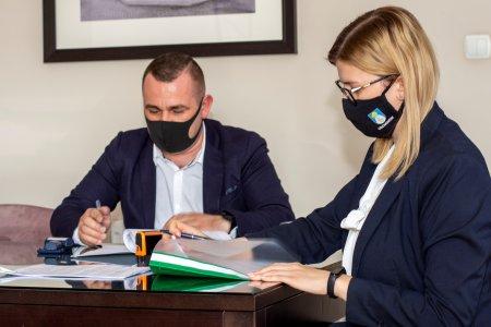 Podpisana umowa na przebudowę ul. Okopowej