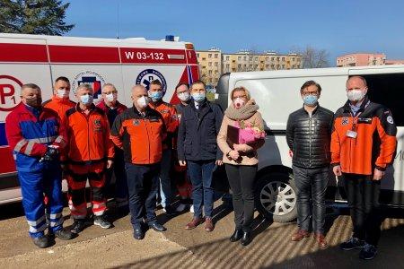 Miejska spółka ze wsparciem dla ratowników medy