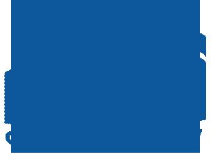 Logo instytucji. Litery MOPS graficznie stylizowane na kształt zamku w Ciechanowie, pod spodem napis Ciechanów